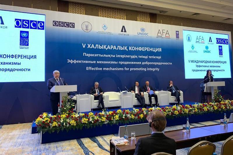 Казахстан выстроил последовательную антикоррупционную политику - Крымбек Кушербаев