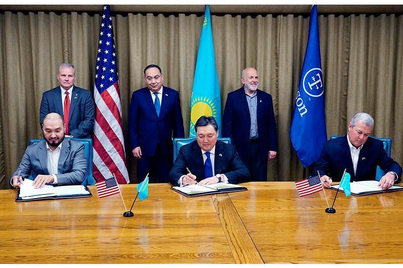 马明对美国进行的工作访问:美国农业界代表将投资哈萨克斯坦