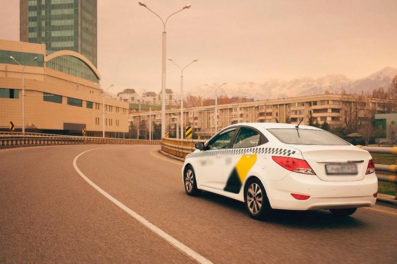 Такси разрешат движение по автобусной полосе в Алматы