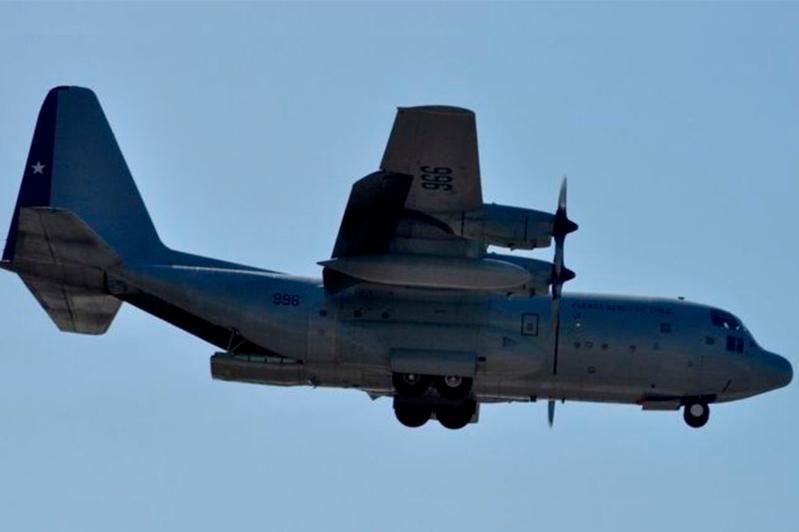 智利空军一架搭载38人的飞机失联