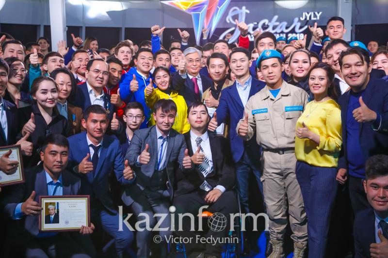 Государство будет поддерживать молодежь во всех начинаниях – Касым-Жомарт Токаев