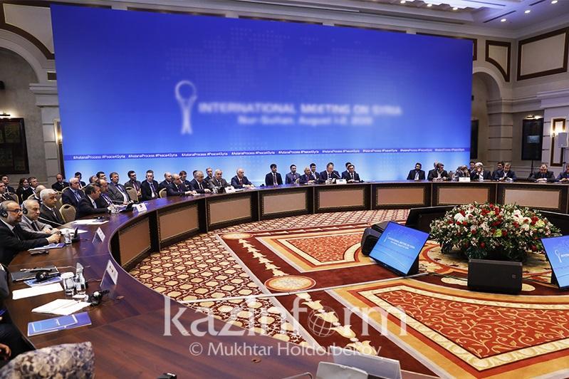 Talks on Syria kick off in Kazakhstan's Nur-Sultan