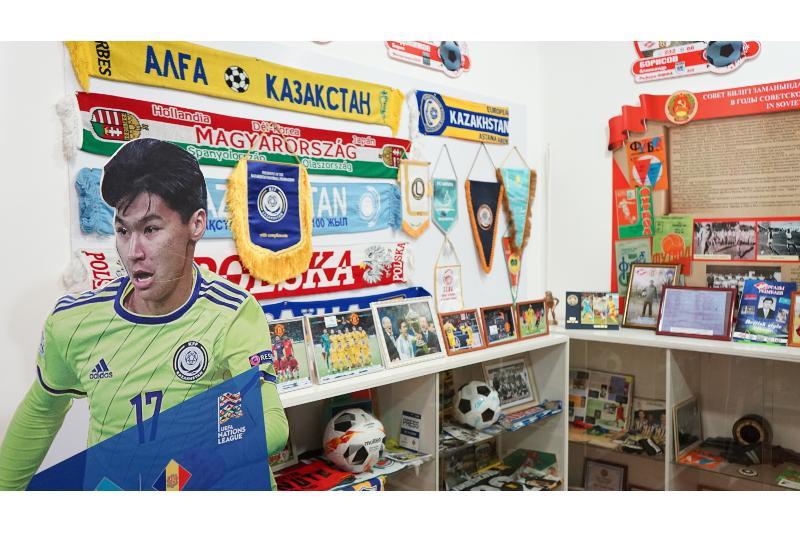 Музей казахстанского футбола в Семее пополнился новыми экспонатами