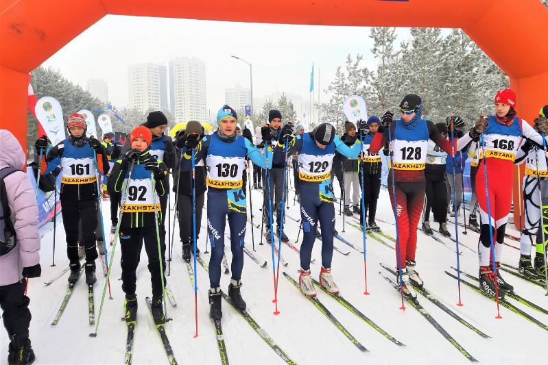 Сезон зимних развлечений в столице откроют традиционными лыжными гонками