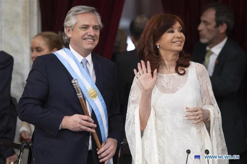 Argentina's Alberto Fernandez sworn in as new president