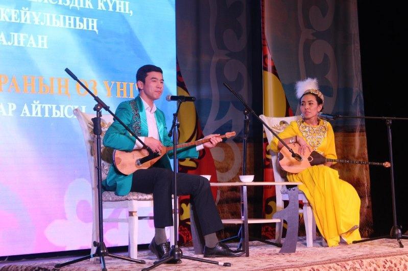 Казахстанские айтыскеры боролись за звание лучшего в Кокшетау