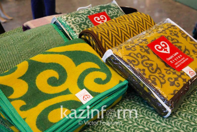 10% составляет объем экспорта продукции легкой промышленности в Казахстане