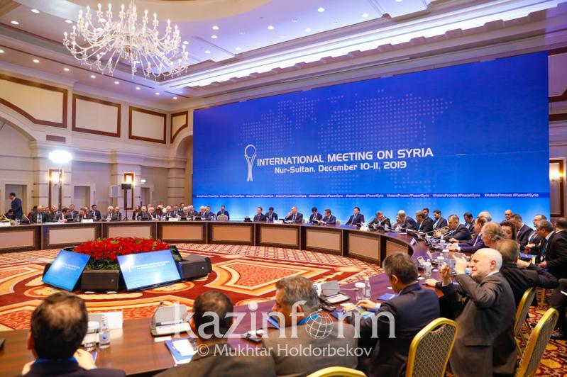 14-й раунд привел к значительным результатам – МИД РК об Астанинском процессе по Сирии