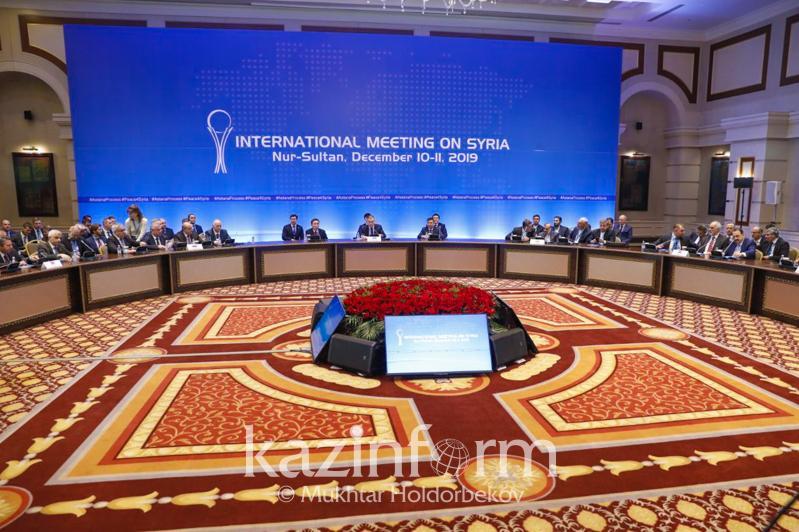 Сурия бўйича Астана жараёни 14-раунди якунида Бирлашган баёнот қабул қилинди