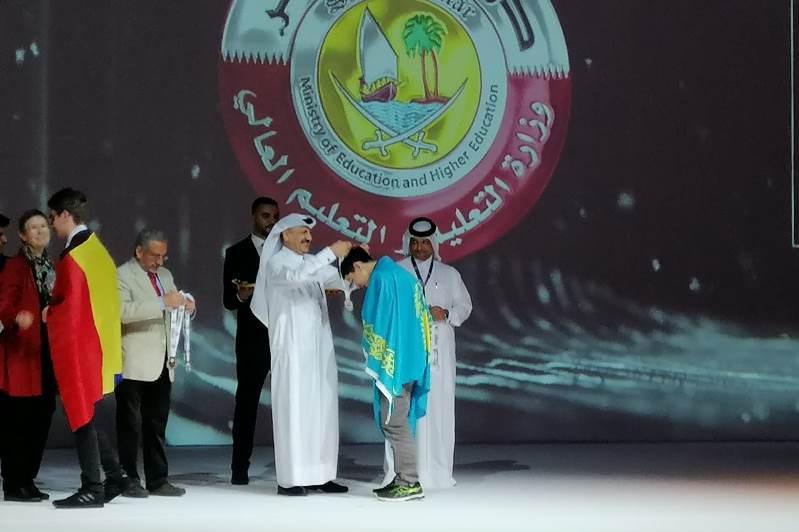 Павлодарские школьники стали призерами олимпиады в Катаре