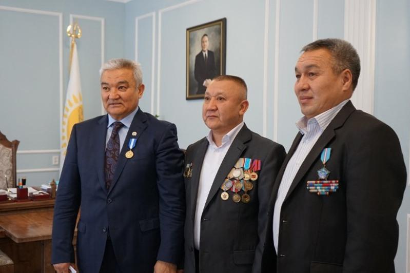 Afghanistan war veteran from E Kazakhstan receives medal he earned 30 years ago