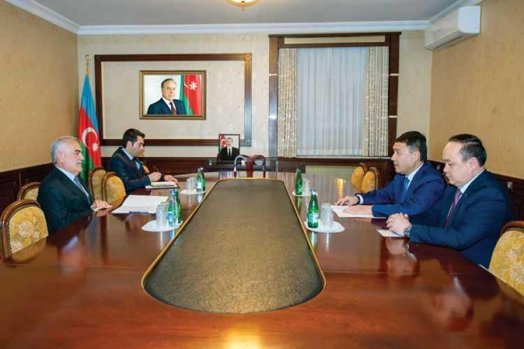 Kazakh Ambassador meets Chairman of Ali Majlis of Nakhchivan Autonomous Republic