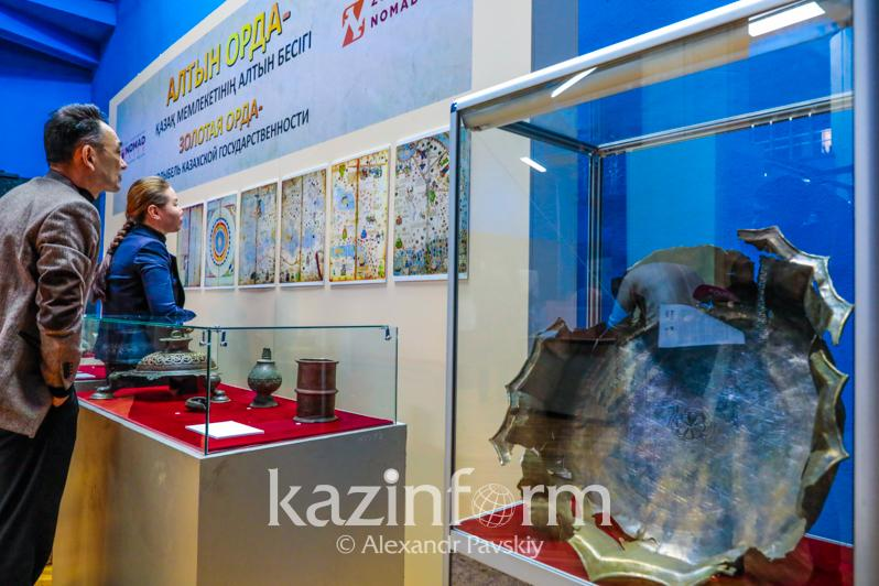 Выставка в честь 750-летия Золотой Орды открылась в Алматы