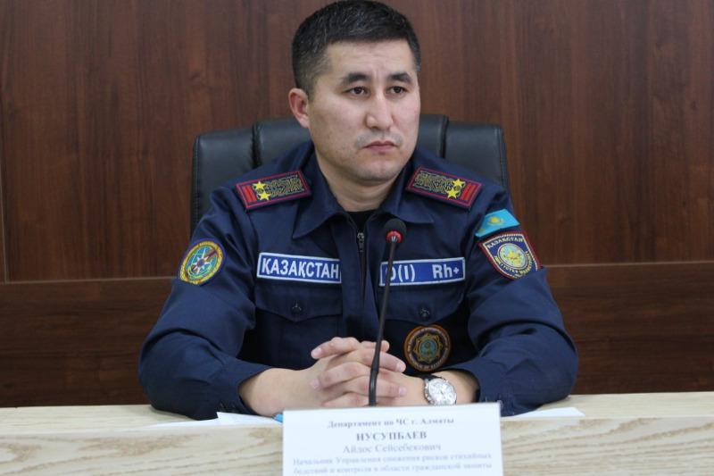 Almatyda pırotehnıkanyń jarylýynan 2 adam jaraqat alǵan
