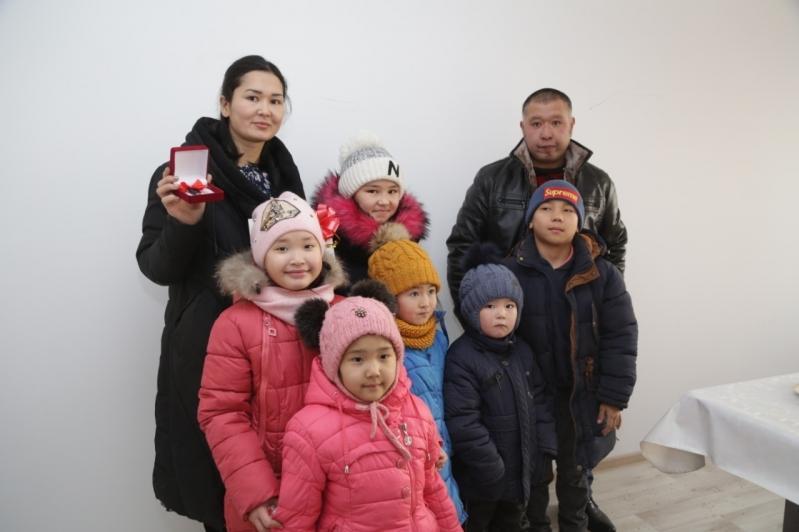 Полностью решили жилищный вопрос многодетных семей в Сарани
