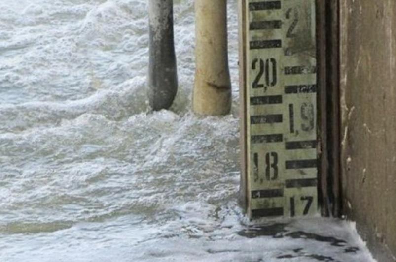 Уровень воды в Сырдарье близ Казалы приближается к опасной отметке