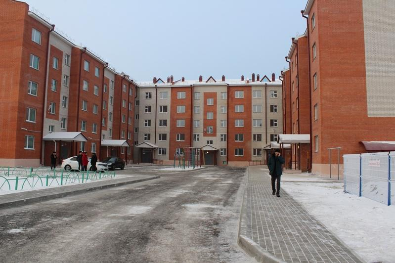 45 large families provided with housing  in Petropavlovsk