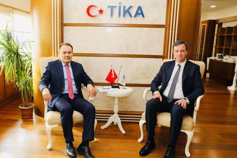 突厥议会秘书长访问土耳其合作与协调局总部