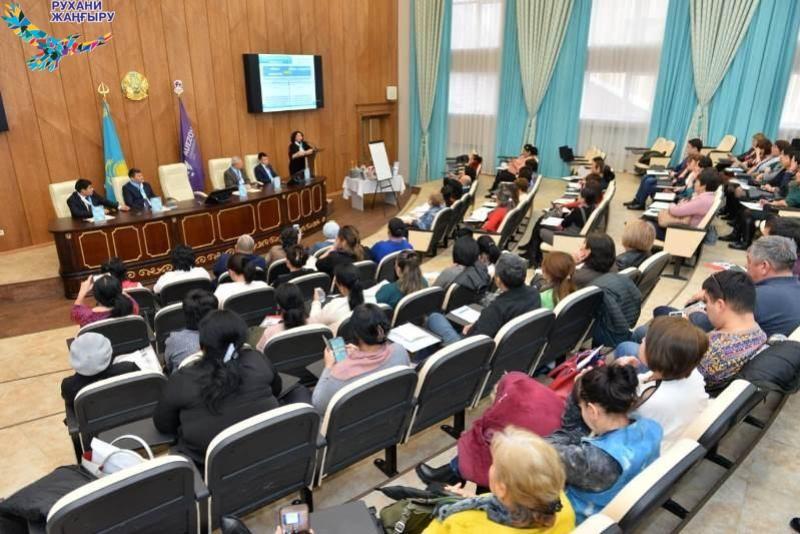 В Шымкенте обсуждены вопросы перехода на латинскую графику