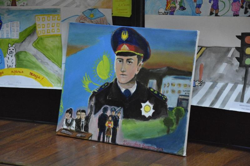 Жамбылские школьники рассказали о своем отношении к полиции