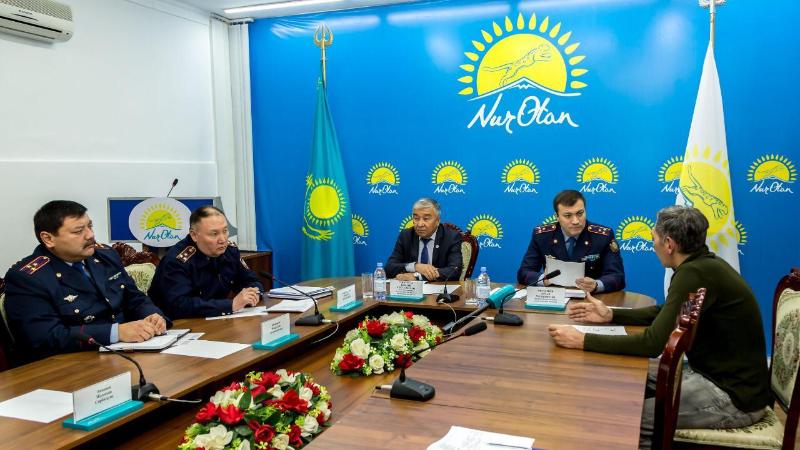 До 70% заявлений должны решаться в судебном порядке - полковник полиции Арман Оразалиев