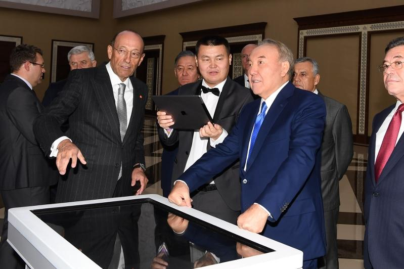 Nursultan Nazarbayev attends ERG's 25 Years Anniversary reception
