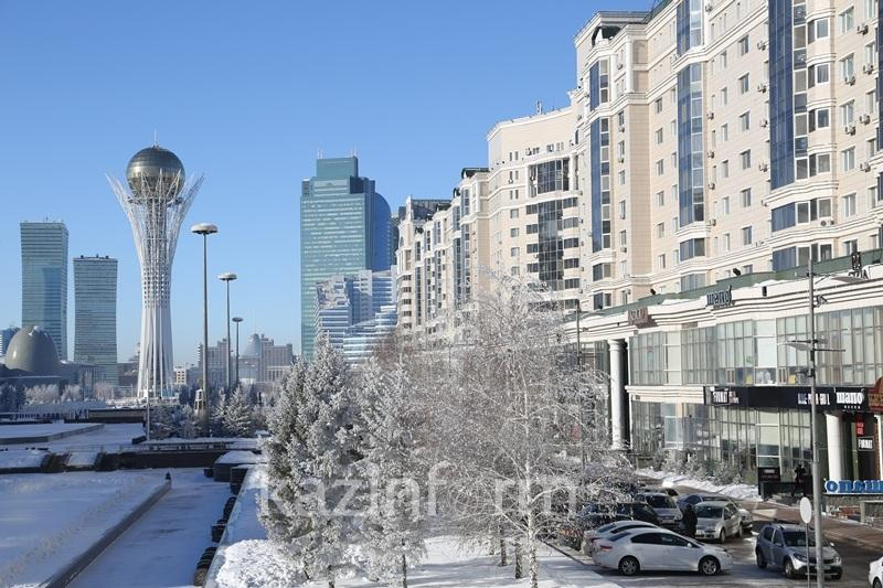 Weather warning issued in Kazakh capital