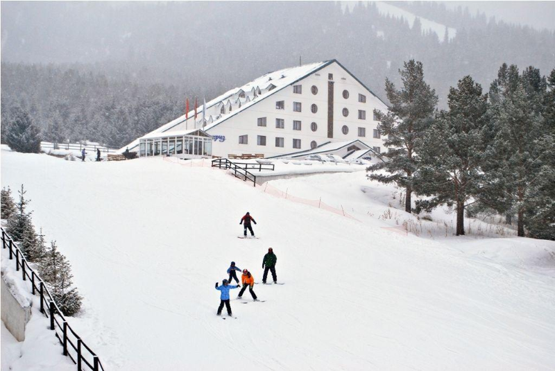 江布尔州年底将有一座投资35亿坚戈的滑雪场投入使用