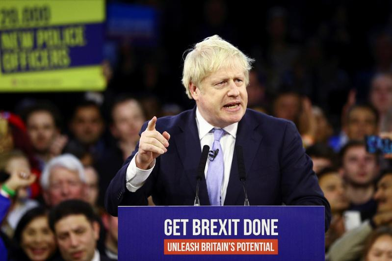 Exit poll predicts big win for Boris Johnson in UK election