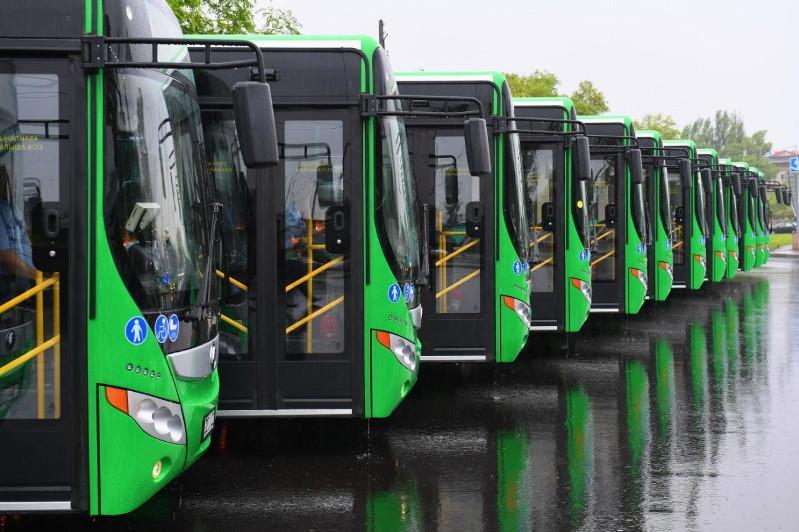 Об обновлении общественного транспорта рассказал аким Алматы