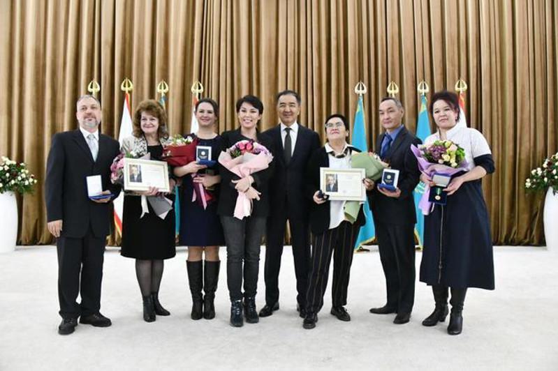 Алматинцам вручили государственные награды