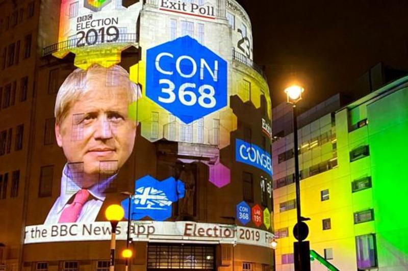 Британиядағы сайлау: Борис Джонсонның партиясы парламентте абсолютті басымдыққа ие болды