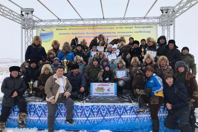 Алматылық құсбегі «Қансонар – 2020» турнирінің бас жүлдесін жеңіп алды