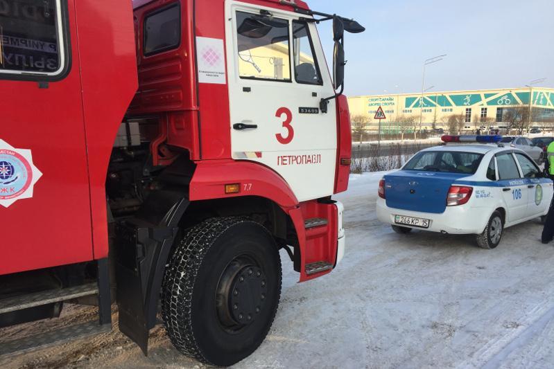 Штраф заплатит водитель в СКО, не уступивший дорогу пожарным