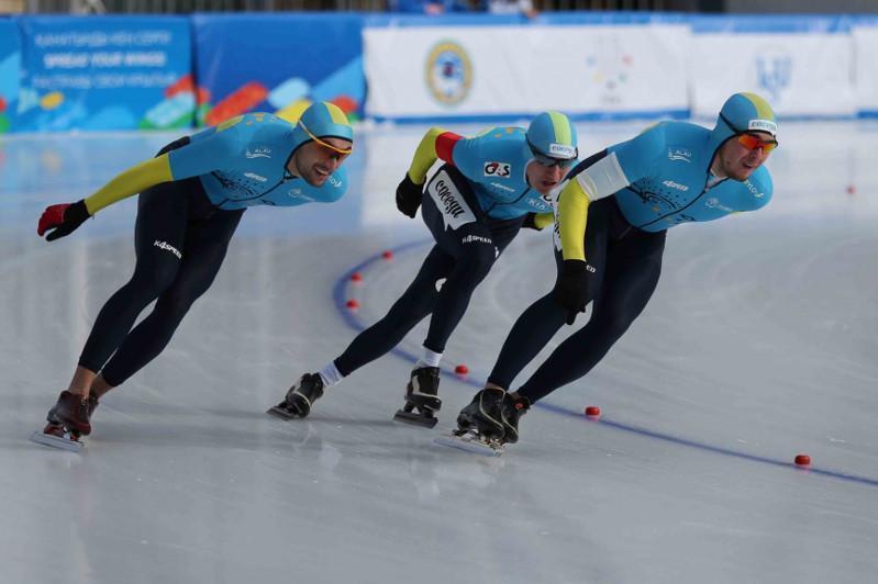 速滑世界杯日本站:哈萨克斯坦男队获世锦赛参赛资格
