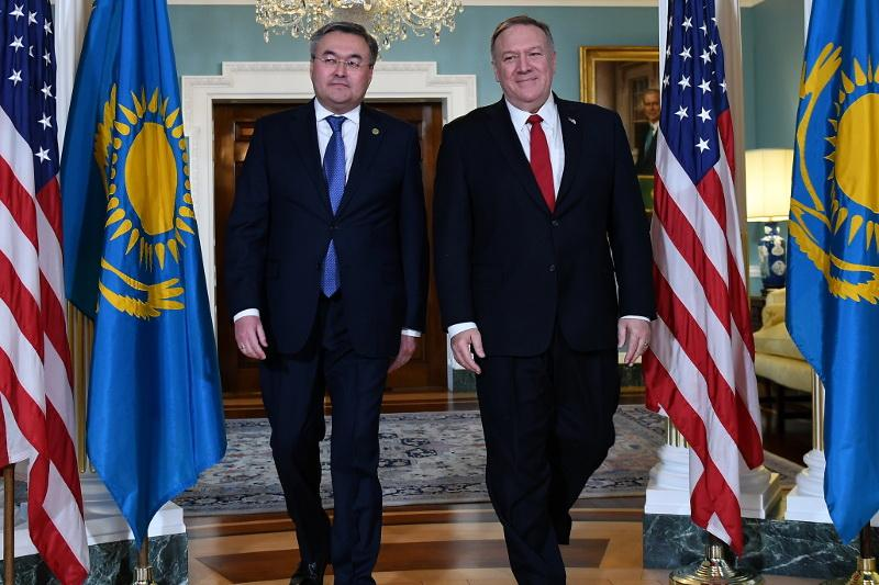 Kazakhstan is as a reliable partner of U.S. in CA – Mike Pompeo