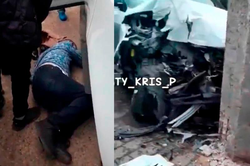 Внедорожник сбил 4 пешеходов и протаранил 4 машины возле мечети в Алматы