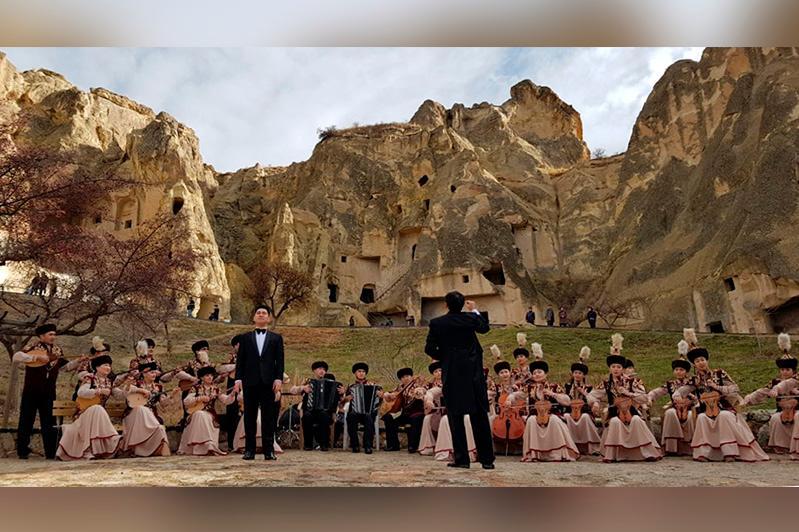 Абай әні Түркияның Каппадокия өңірінде шырқалды