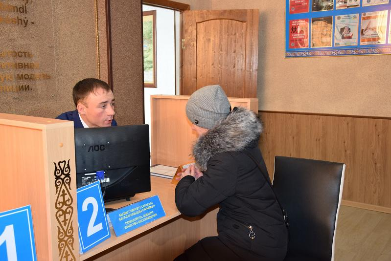 Первый районный фронт-офис миграционной службы открыли в СКО