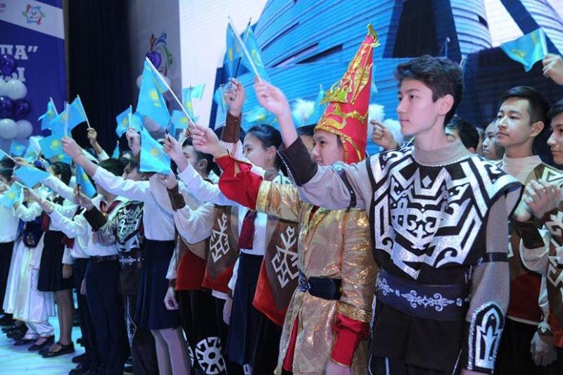В НИШ Шымкента прошло праздничное мероприятие «Ұлы дала мұрагерлері»