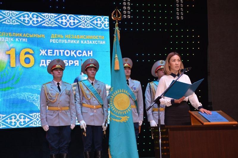 Награды и звания получили полицейские СКО