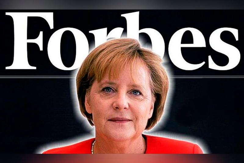 Merkel tops Forbes' list of most powerful women