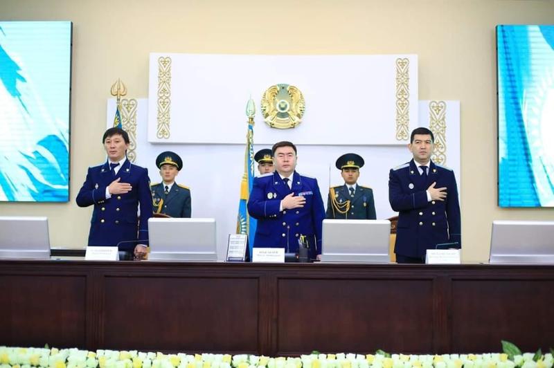 Shymkent prokýratýrasynda Táýelsizdik kúnine arnalǵan merekelik jıyn ótti