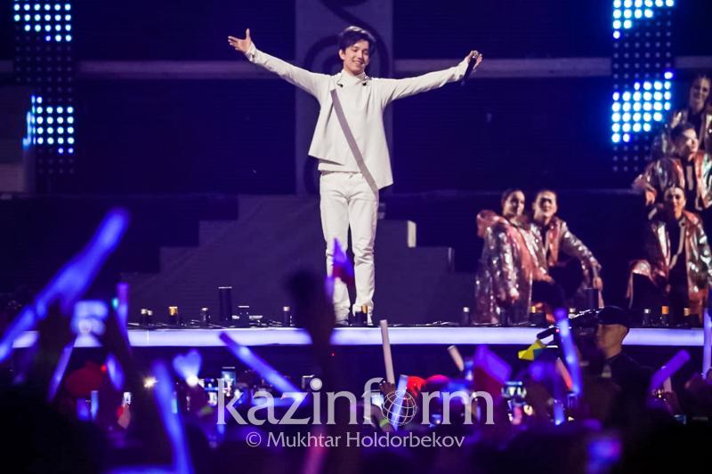Концерт Димаша Кудайбергена покажет телеканал Qazaqstan