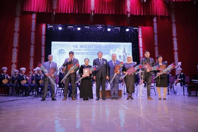День независимости отметили в Атырауской области