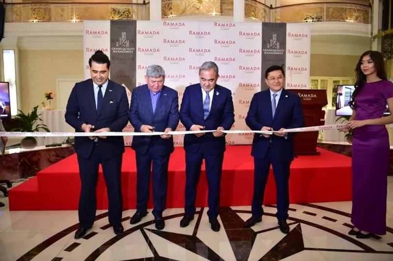 Гостиничный комплекс Ramada открылся в Шымкенте