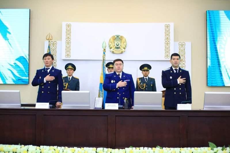 Прокуроры Шымкента отметили День независимости