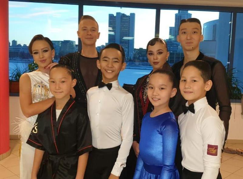 Дуэт из Кокшетау выиграл турнир по танцевальному спорту в Екатеринбурге