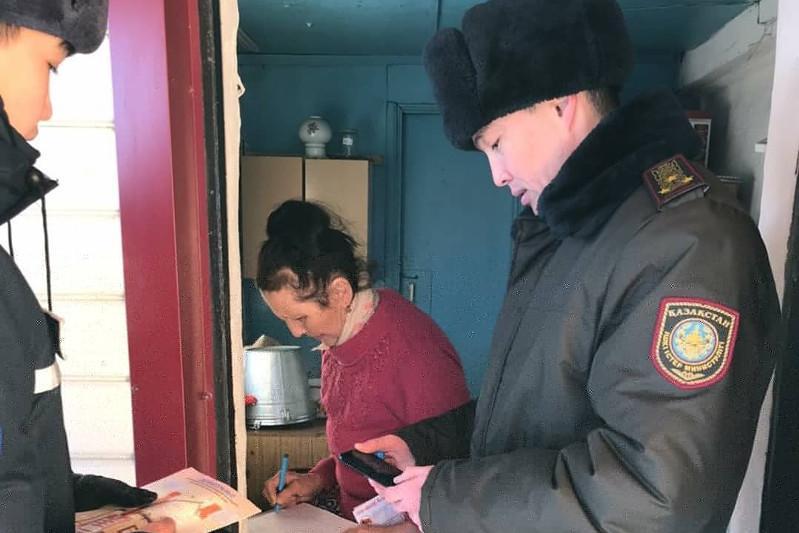 130 датчиков угарного газа установили спасатели в домах малоимущих акмолинцев