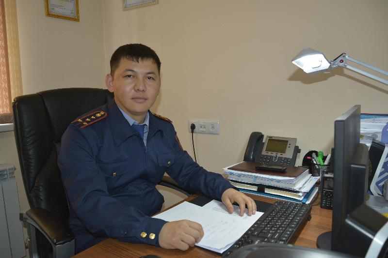 Более 130 ровесников независимости несут службу в ДП Туркестанской области